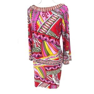 Muse for Boston Proper Geometric Patterned Dress